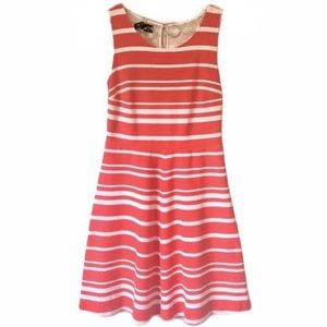 INC Red & White Stripe Dress